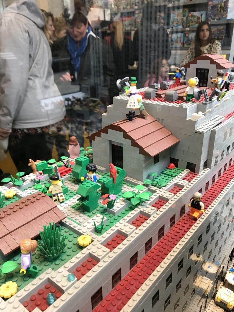 Le Lego Store de New York Rockefeller Center
