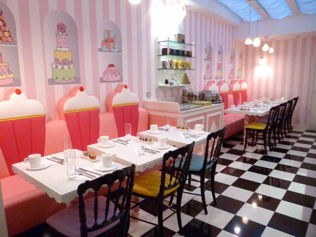 l'hôtellerie haute couture vue par Chantal Thomass