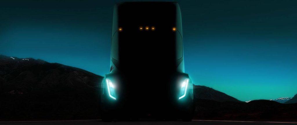 Le premier camion électrique Tesla