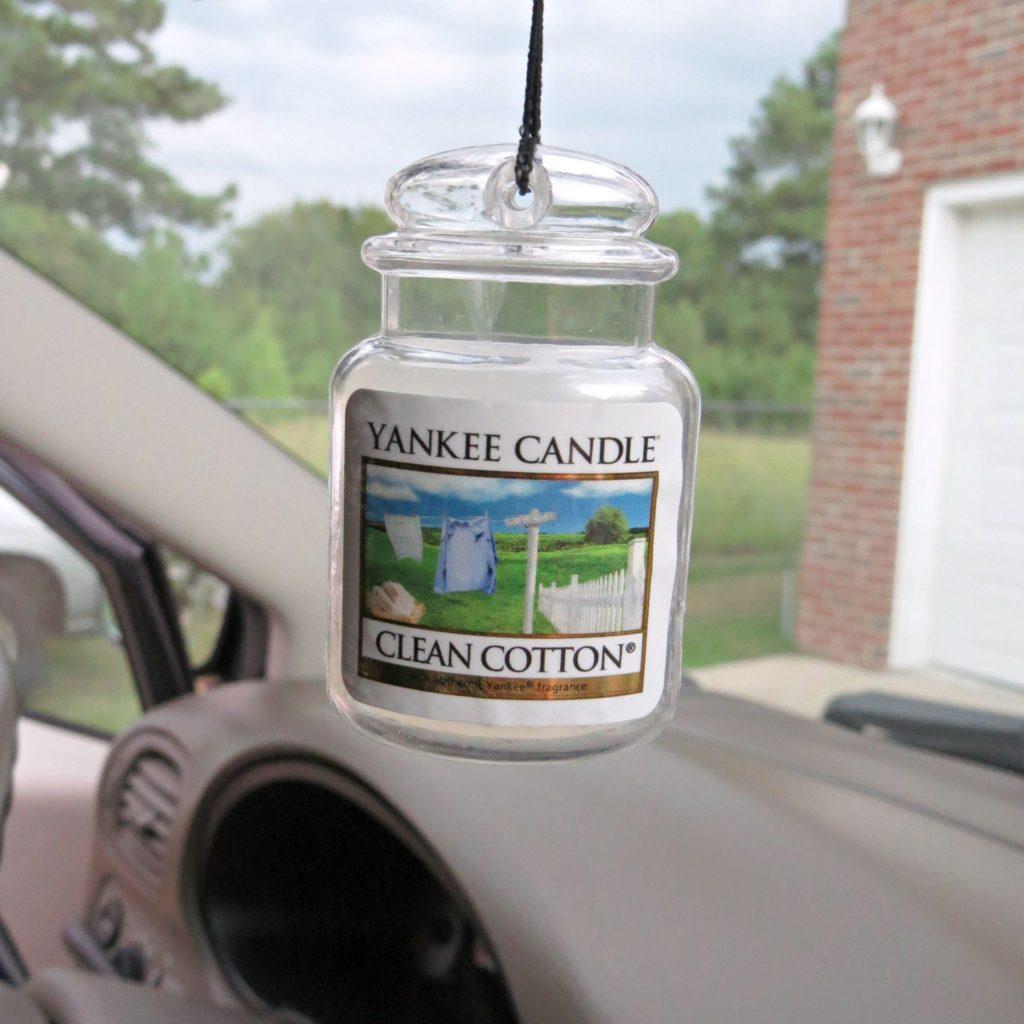 Les bougies parfumées Yankee Candle arrivent dans votre voiture