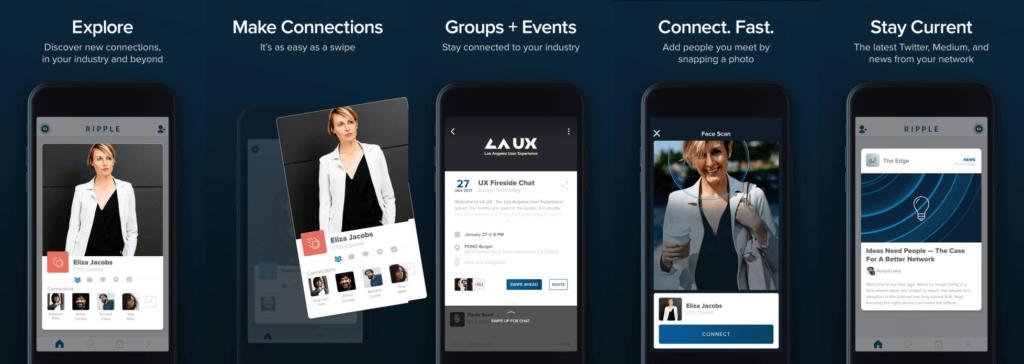 Un concurrent pour Linkedin et Viadeo à la sauce Tinder