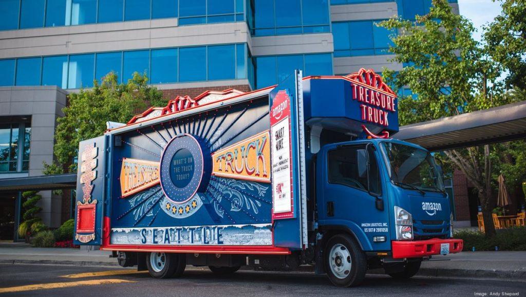 Amazon réinvente maintenant le camion camelot