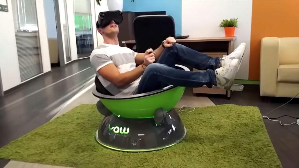 Yaw VR le simulateur de mouvement portable low cost - Cvendeur